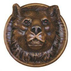 """Декоративная тарелка """"Медведь"""""""