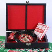 Игровой набор 2 в 1: рулетка и мини-покер